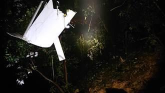 屏東輕航機疑空間迷向失事墜毀 教練乘客2人死亡