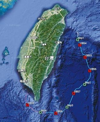 NEC 助建地震海嘯海纜觀測系統