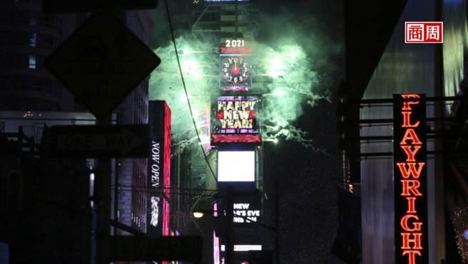 紐約時代廣場跨年倒數,全靠這家12人小公司。(圖片來源/Dreamstime)