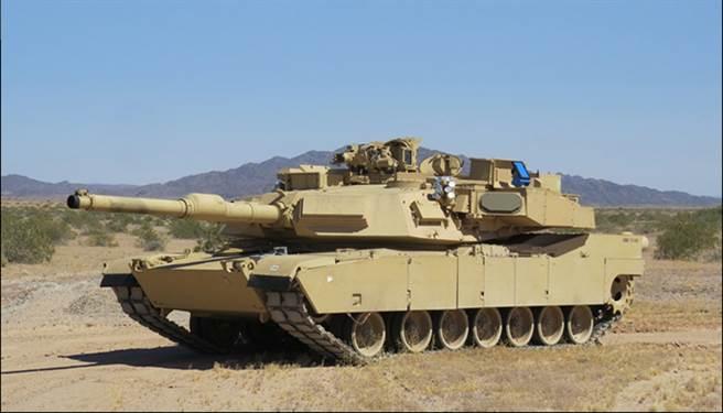 安裝了戰利品系統的M1A2戰車。(圖/美國陸軍)