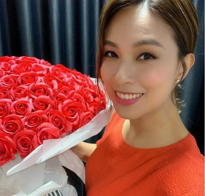 香港39歲女星朱慧敏。(圖/ 摘自朱慧敏IG)