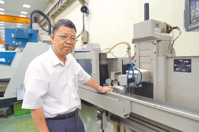 台穩公司總經理廖德川。圖/莊富安