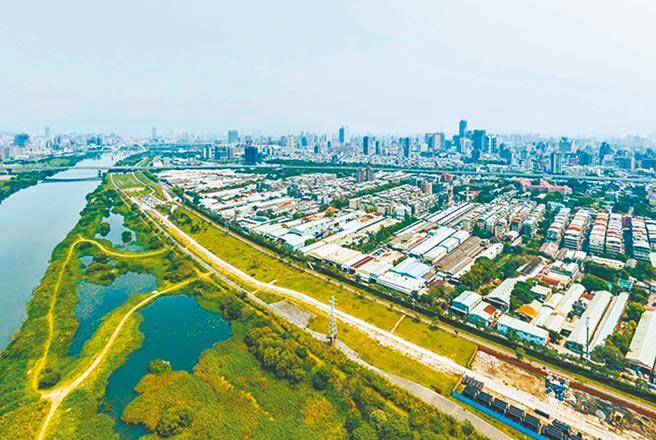 浮洲都市計畫預計今年6月通過市都委會審議送內政部。(本報資料照片)