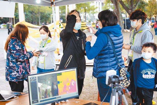 「台南好YOUNG─搖滾嘻哈夜」本周末將在永華市政中心登場,市府6日宣布擴大開放2萬人入場,但均需量測體溫。(市府提供/洪榮志台南傳真)