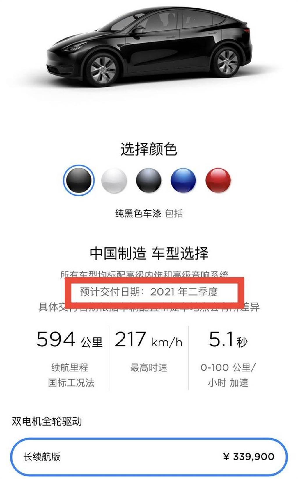 中國 Model Y 第一季產能已被搶光光,現在訂車恐要等半年!