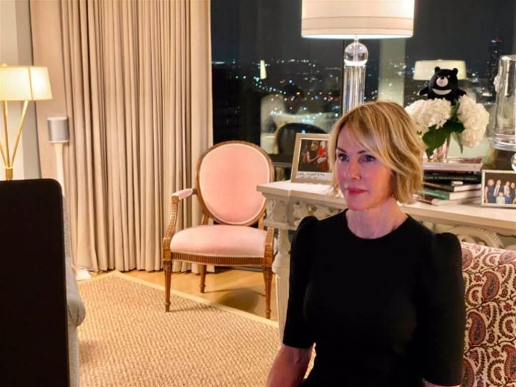 美國駐聯合國大使克拉夫特(Kelly Craft),將訪問台灣。(圖/擷取自克拉夫特推特)