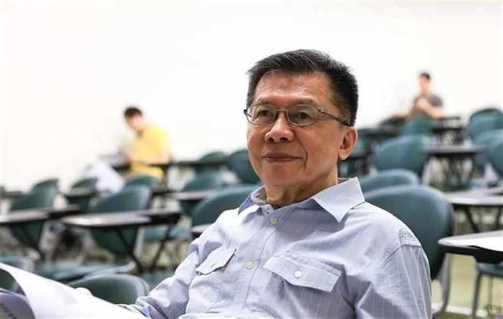 前民進黨立委沈富雄。(圖/摘自沈富雄臉書)