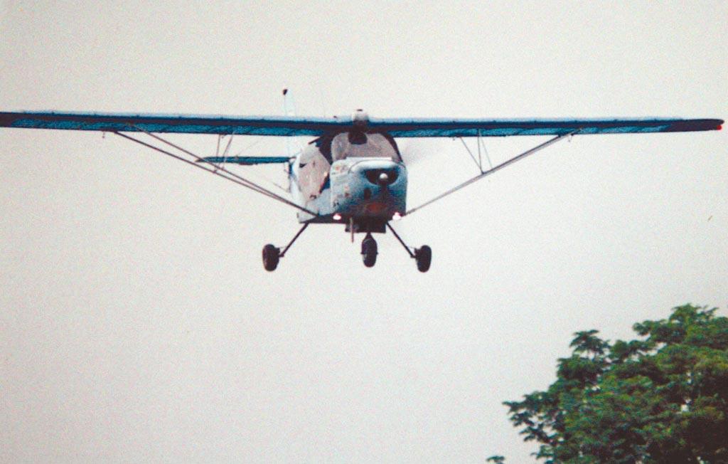 圖為輕航機,非新聞事故機。(本報資料照片/潘建志屏東傳真)