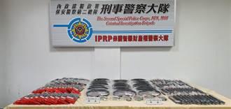 警查獲機車仿冒皮帶及整流器 仿品逾3000件市價約500萬元