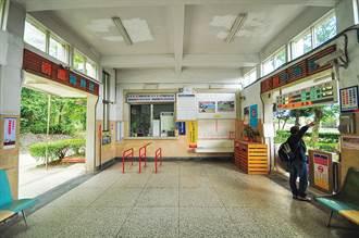 崇德車站 謎樣車站的最美靛藍
