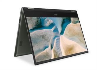 宏碁可翻轉Chromebook Spin 514搭載AMD Ryzen行動處理器