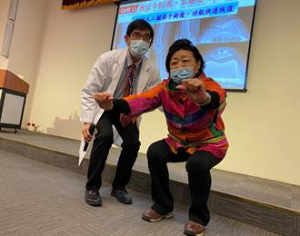 從跛行到日行萬步 62歲華僑回台治療人生大不同