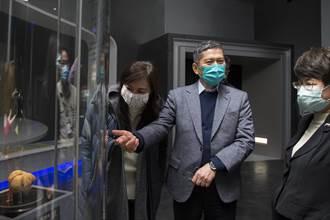 李永得訪視南科考古館 期許跨國合作