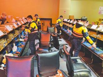 桃警破獲賭博電玩 竟藏購物中心