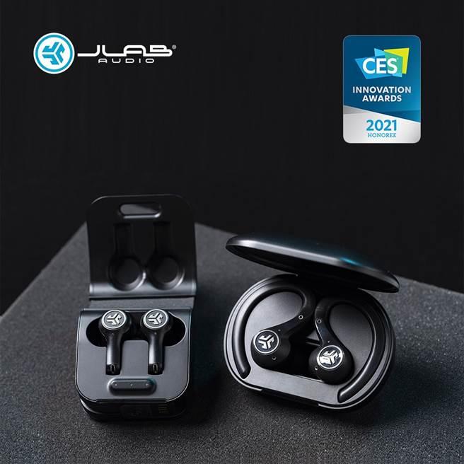 真無線耳機 JLAB Epic Air ANC、Epic Air Sport ANC 皆獲得CES創新獎。(耳機人提供)