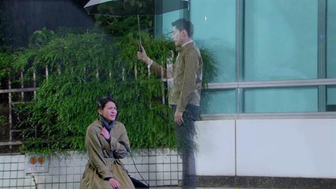 苏晏霈跟王凯在剧中刻苦铭心的爱情让观眾印象深刻。(民视提供)