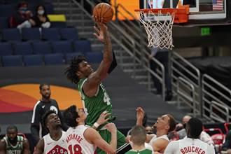 NBA》綠軍小將宣告中鏢 兩隊友將隔離7天