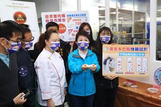 杜絕萊豬月子餐 盧秀燕視察中央廚房護產婦、嬰兒健康