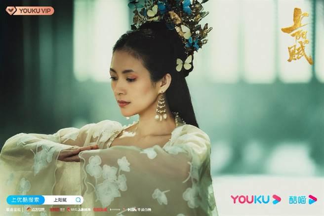 章子怡在《上陽賦》挑戰飾演15歲少女。(取自《上陽賦》微博)