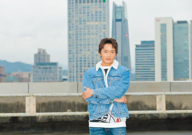 陳澤耀來台宣傳《迷失安狄》,新作品也將在年後在台開拍。(盧禕祺攝)