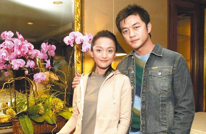李亞鵬(右)早年跟周迅有一段情。圖片提供:中時資料庫