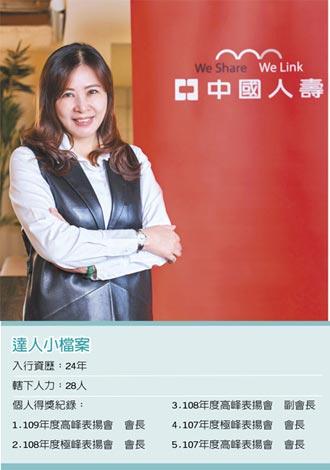 職場達人-中國人壽立富通訊處資深業務經理 謝欣妤化危機為轉機 從挫折中累積經驗
