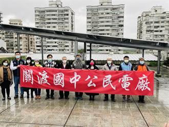 集結政府、民眾、NGO合作!全國最大公民電廠在關渡正式運轉