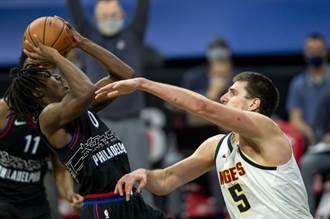 NBA》僅剩7人上場!七六人輸金塊很「正常」