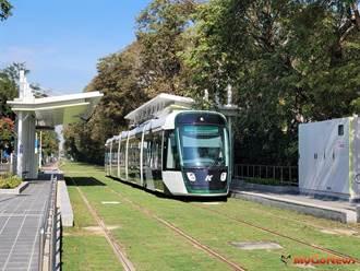 高雄輕軌大南環段2021年1月12日加入營運