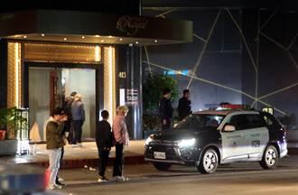 林森北酒店3打1亂鬥 酒杯酒瓶亂飛24人遭警帶回
