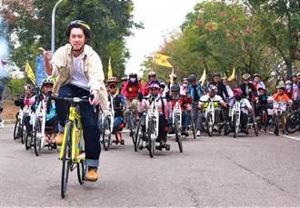 自行車非行人 車速10公里與前車保持5公尺