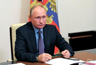 俄國普丁續掌強權