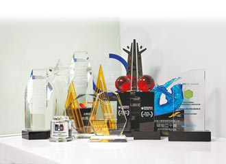 台灣人壽勇奪國內外共44項獎項