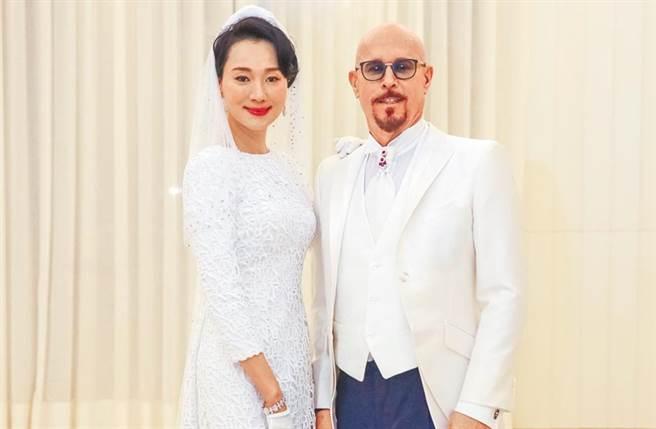 坣娜和富尪薛智偉結婚後,就淡出演藝圈。(圖/本報系資料照)