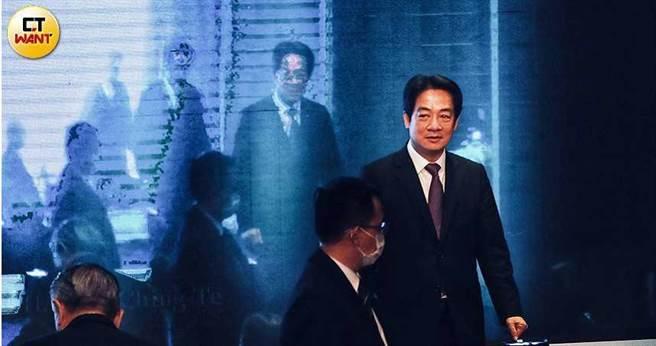 副總統賴清德備戰2024年總統大選已不是秘密。(圖/記者馬景平攝)