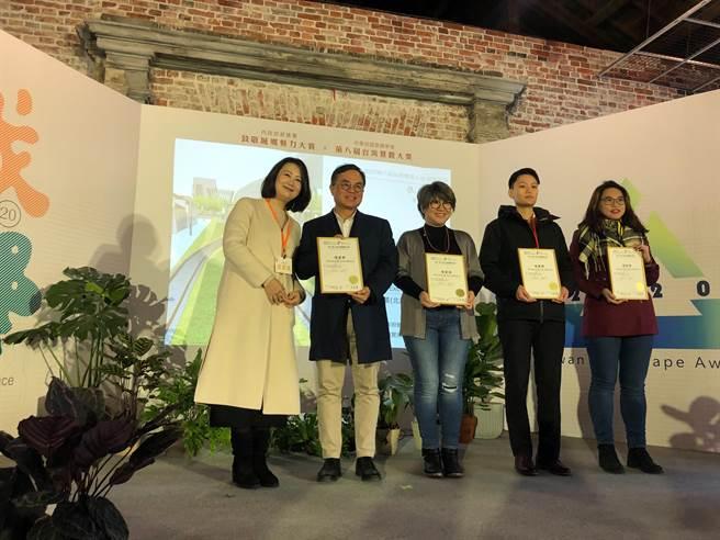 「城鄉20•魅力無限」致敬城鄉魅力大賞及第8屆台灣景觀大獎。(台中市政府提供)