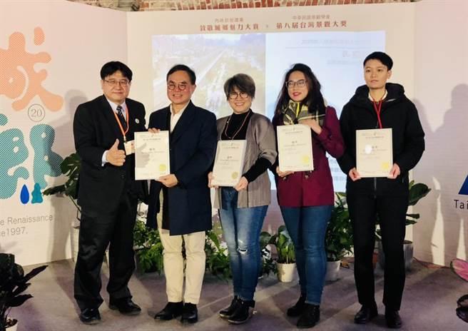 中市獲「城鄉20•魅力無限」及台灣景觀大獎肯定。(台中市政府提供)
