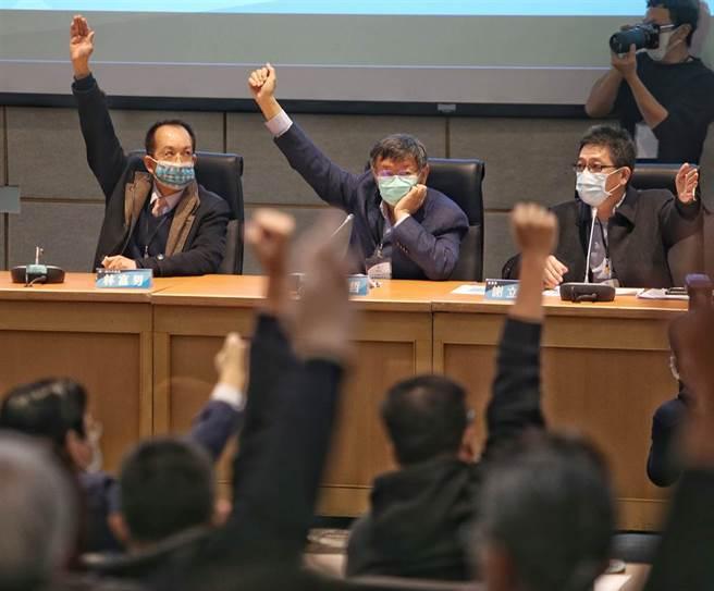 台灣民眾黨10日舉行第一屆黨代表大會。(中時資料照)