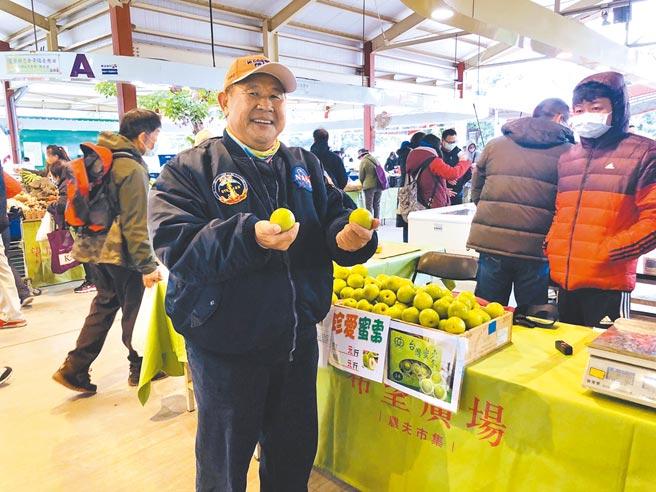 台北希望廣場9、10日舉辦「高雄市農特產品展售會」。(高雄市農業局提供)