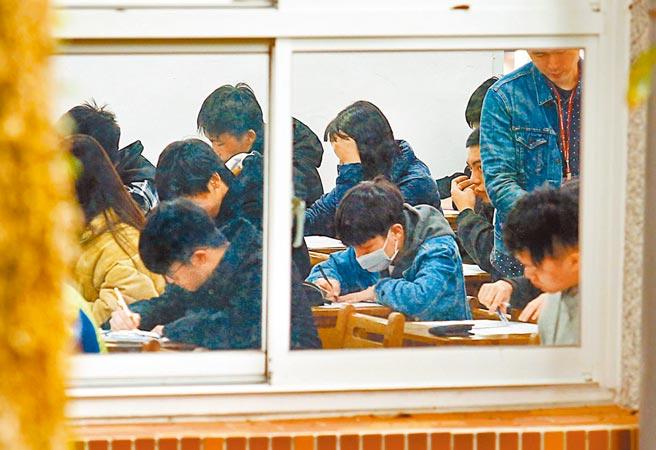 110年升大學學測將於1月22日、23日登場。(本報資料照)
