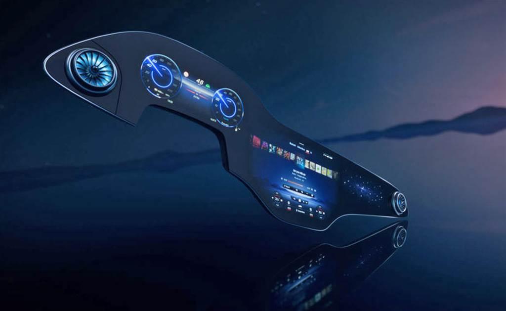 賓士全新 MBUX Hyperscreen 影音娛樂系統!56 吋巨型 OLED 螢幕「零層級」無縫操作
