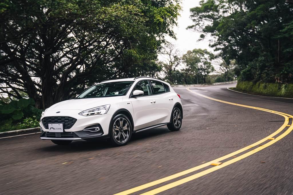 一起野的斜槓夥伴,2021 Ford Focus Active 1.5 EcoBoost 任性版
