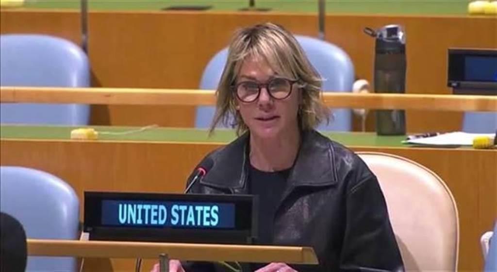 美駐聯合國大使克拉芙特將訪台。(圖/推特@USAmbUN)