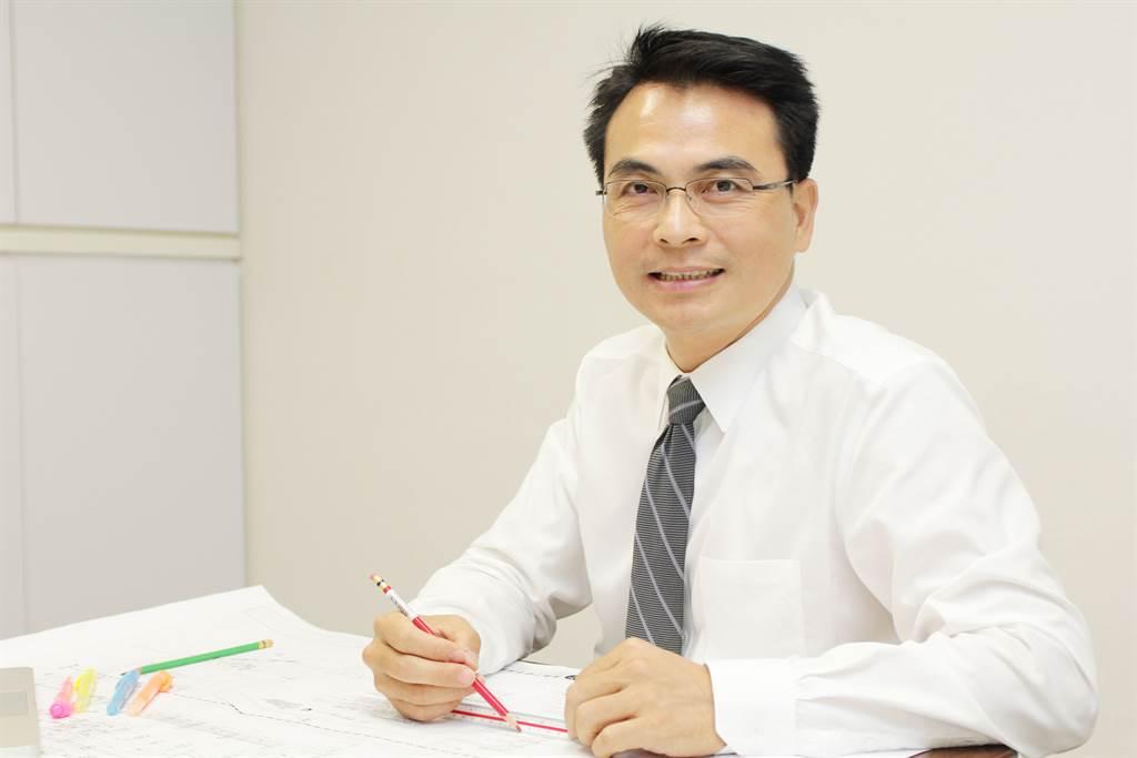 社團法人建築安全履歷協會理事長戴雲發。(戴雲發提供)