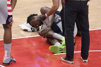 NBA》戰績墊底巫師再傳噩耗 先發中鋒左膝受傷賽季報銷