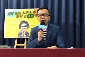 黃子哲反諷林鶴明:民進黨副祕像極了克拉芙特的小祕書
