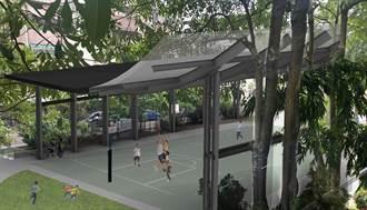 竹市6校園投入6812萬打造風雨球場 孩子雨天也能運動