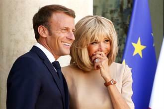 馬克宏夫婦年撒2000萬買鮮花 法國人怒轟可恥