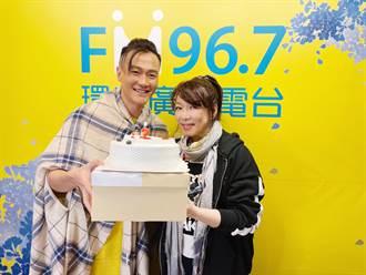 林俊逸喜迎41歲生日 趙詠華備紅內褲要求「猛男秀」