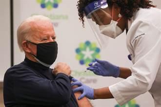 拜登11日注射第2劑疫苗 就職總統之前完成接種